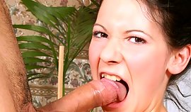 Naughty hooker starts giving a nip this vulgar and fet fake penis extreme